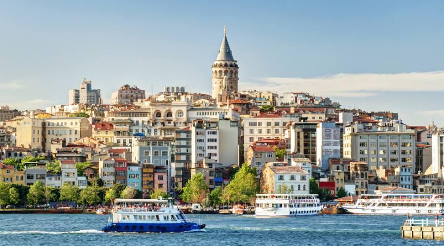 vista della citta' d'Istanbul