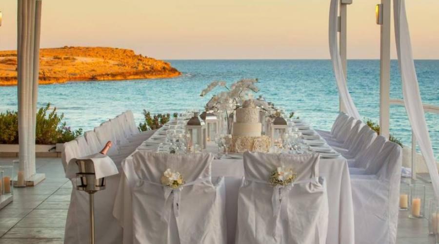 tavola matrimonio vista mare