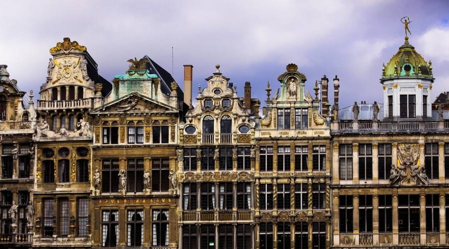 Bruxelles guild houses