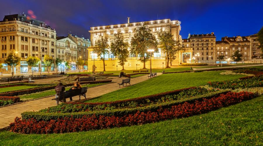 Belgrado, le luci