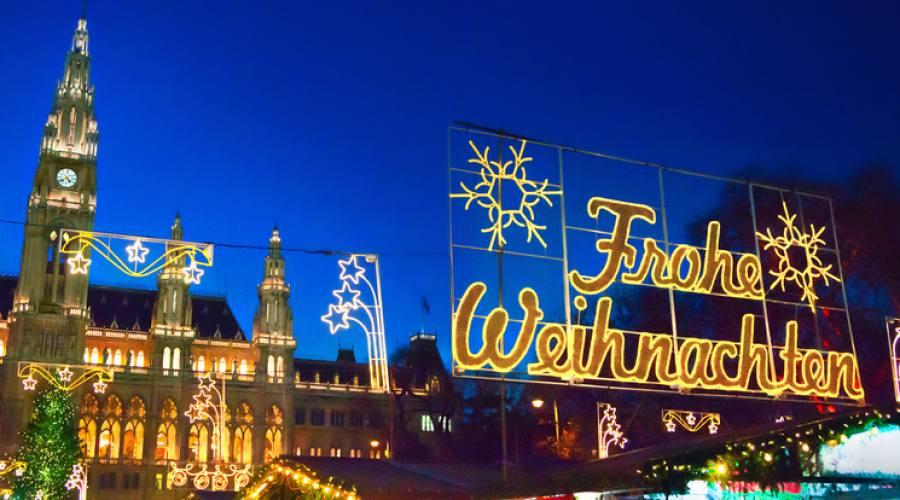 Vienna, i mercatini