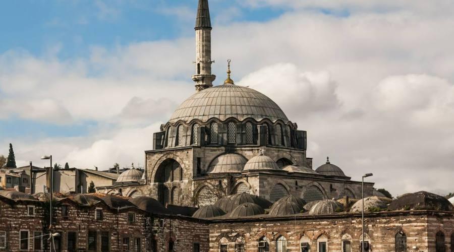 Un particolare della Moschea Blue