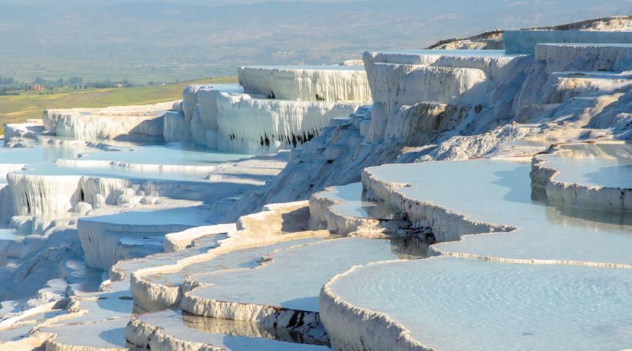 Le cascate pietrificate di Pamukkale