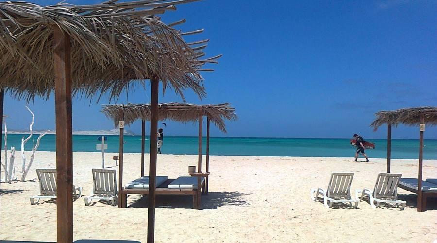 Una spiaggia di Boavista