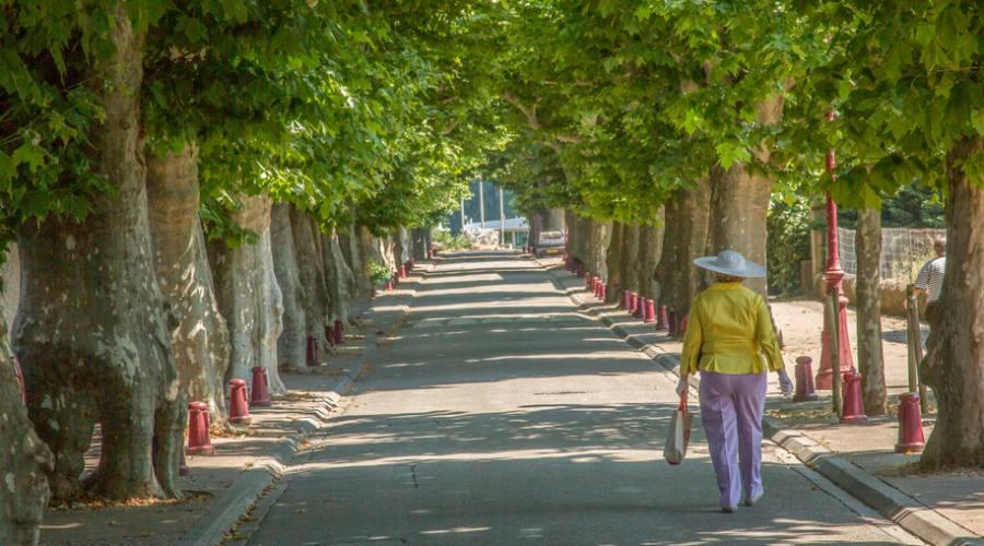 Passeggiata a Viviers