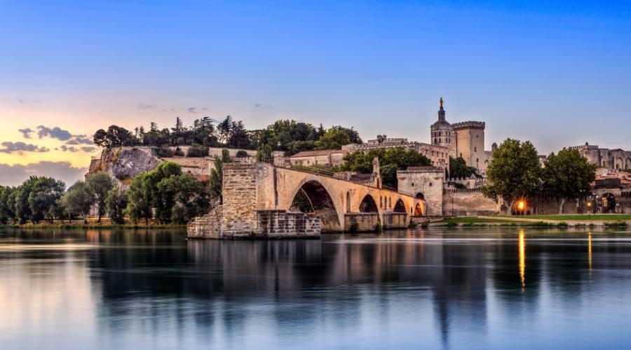 Avignone dal fiume
