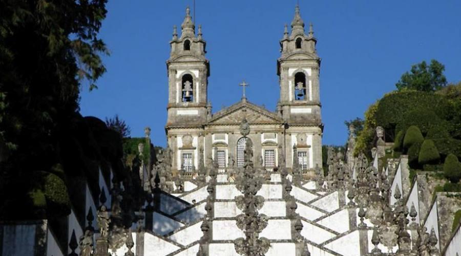 Braga, scalinata del santuario del Bom Jesus