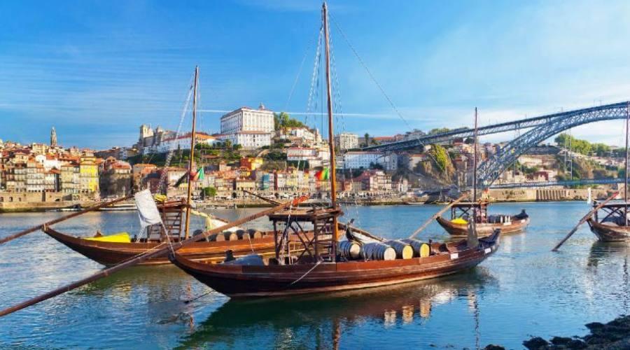 Porto, i rabelos, imbarcazioni tipiche