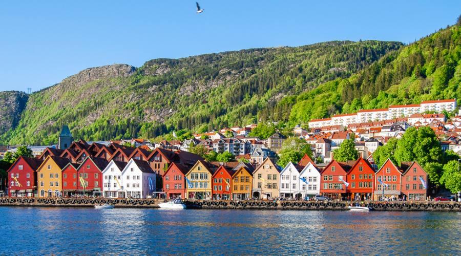 Bergen, Fly&Drive Norvegia