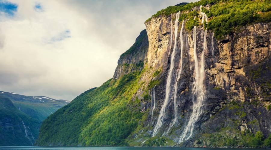 Fiordo Geiranger, Fly&Drive Norvegia