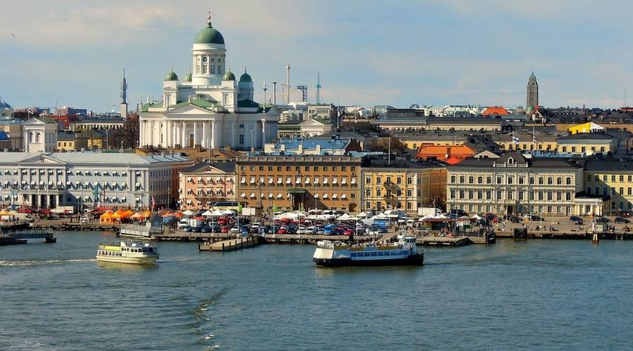 Helsinki - Vista della città