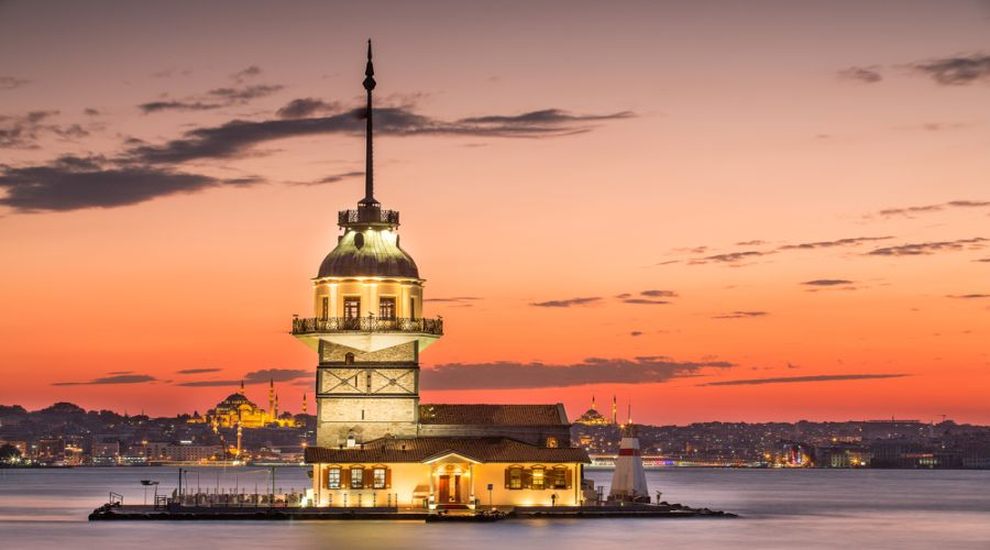 Veduta di Istanbul