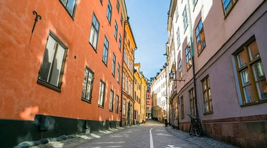 Stoccolma stradine della città vecchia