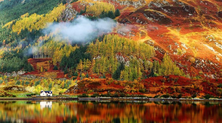 Autunno nelle Highlands
