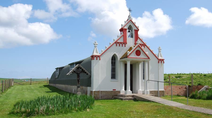 Isole Orcadi - Cappella italiana
