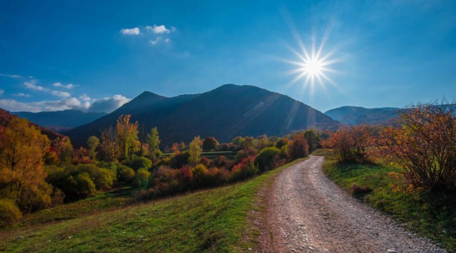 Foliage autunnale nel Parco Nazionale d'Abruzzo