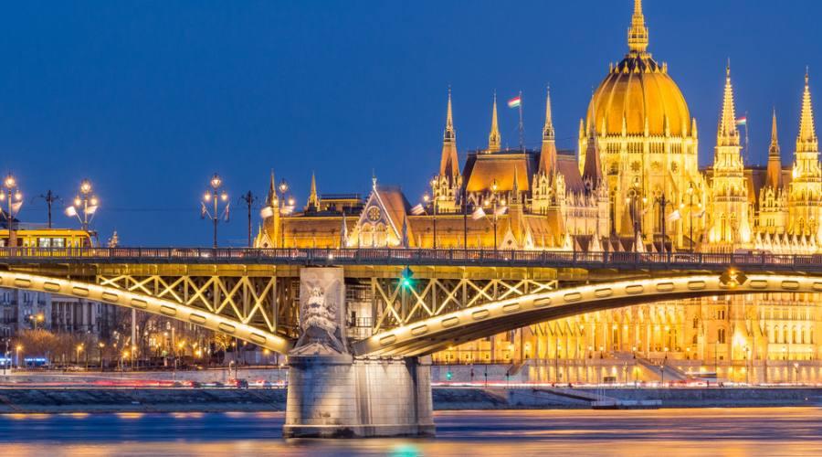 Budapest , ponte Margherita