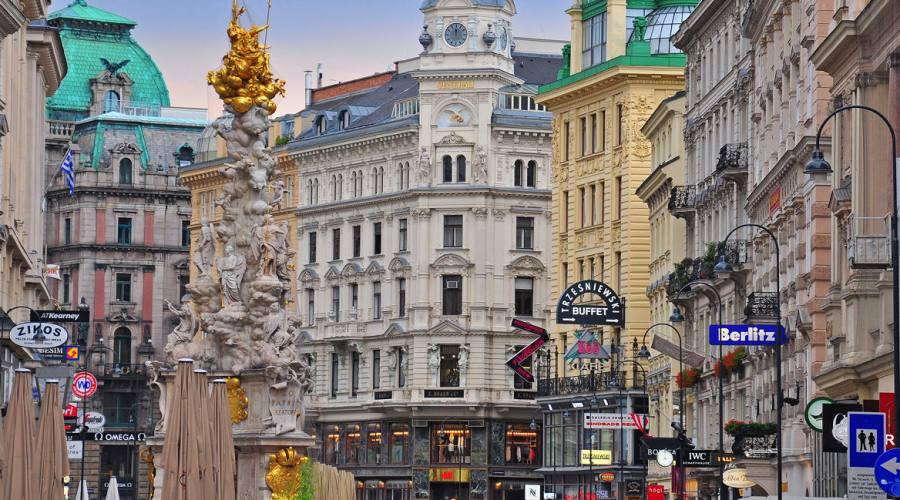 Vienna, vie del centro