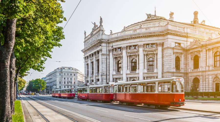 Il tram a Vienna