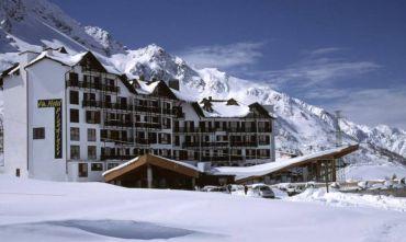 Hotel con vista sul ghiacciaio Presena