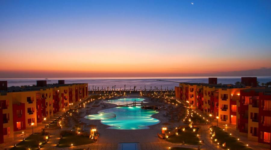 Magic Tulip Resort by night