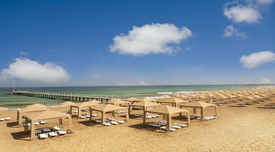 gazebo in spiaggia