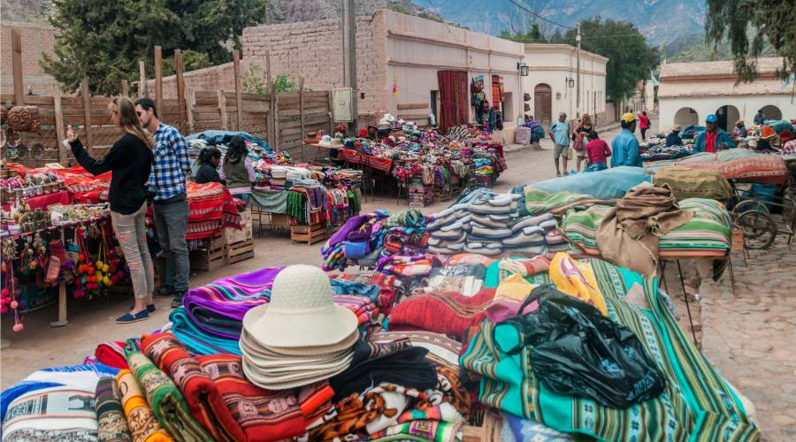 Mercato di Purmamarca