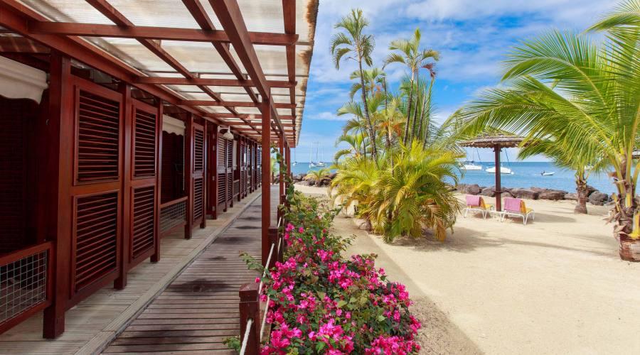 Le camere fronte spiaggia
