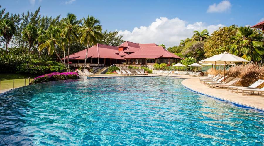 La piscina del Cap Est Lagoon