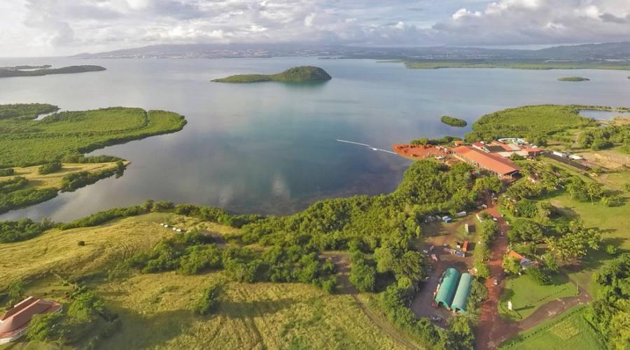 Una baia dell'isola di Martinica