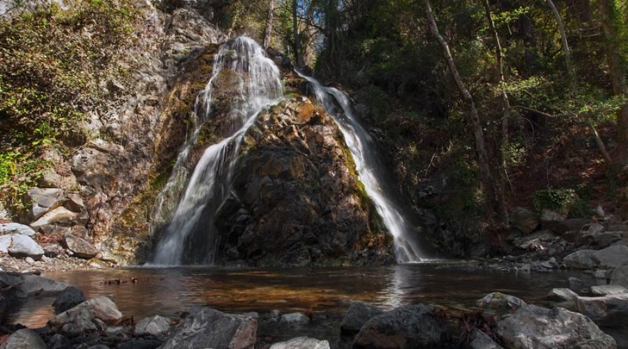 cascate sui monti Trodos