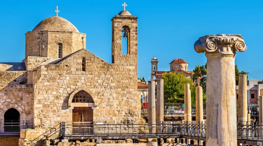 basilica Panagia Chrysopolitissa - Paphos