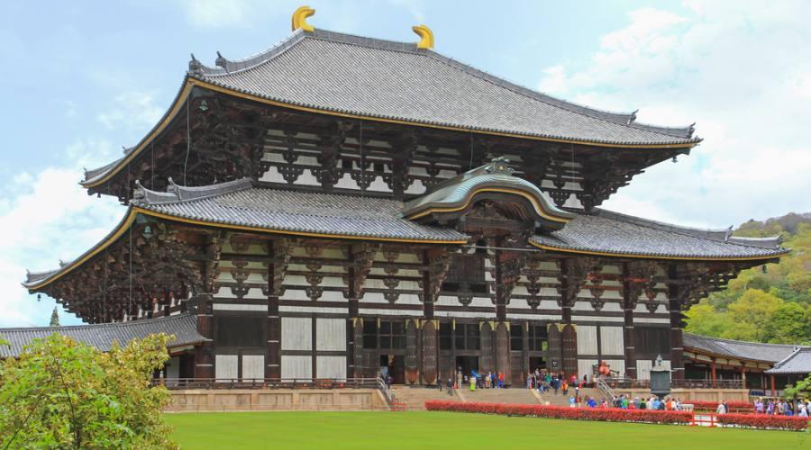 Il Tempio Todai-ji a Nara