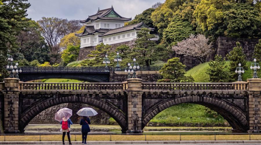 Tokyo - Un edificio del Palazzo Imperiale