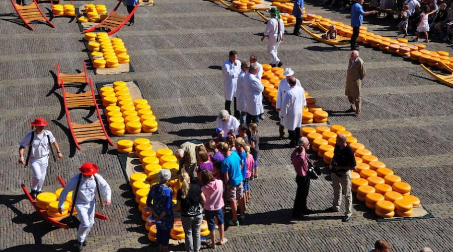 Alkmaar Mercato formaggio