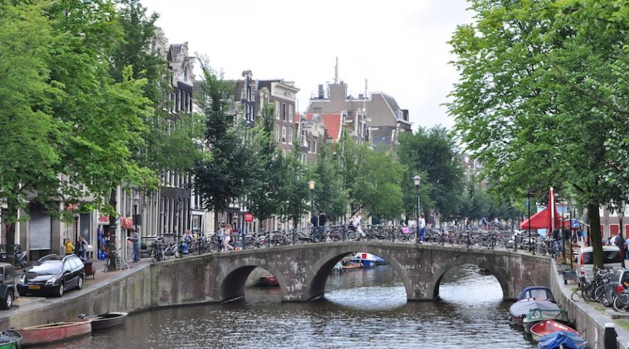 Amsterdam, biciclette ovunque