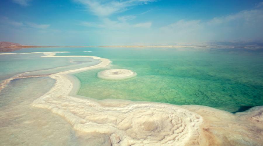 Isole di Sale sul Mar Morto