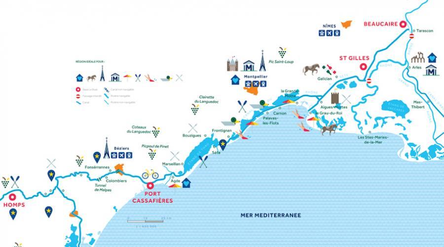 Mappa Camargue