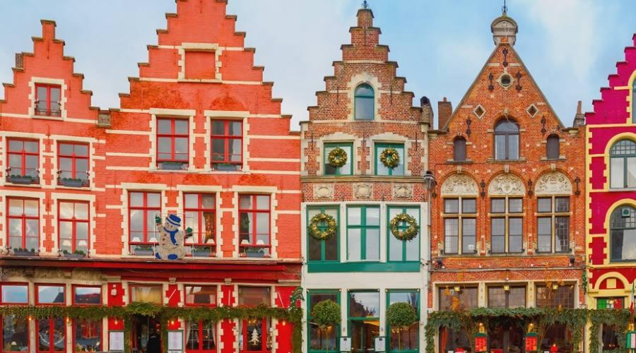 la coloratissima Bruges