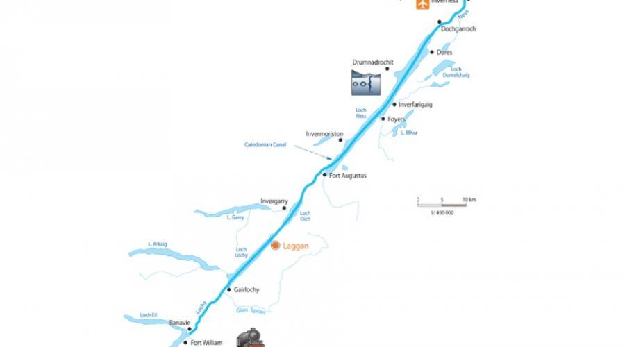 Percorso canale di Caledonia