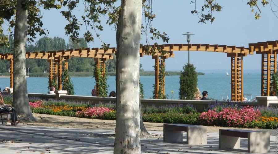 Sosta lungo il Balaton