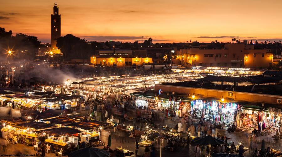 Marrakech - Piazza Jamaa Al Fnaa
