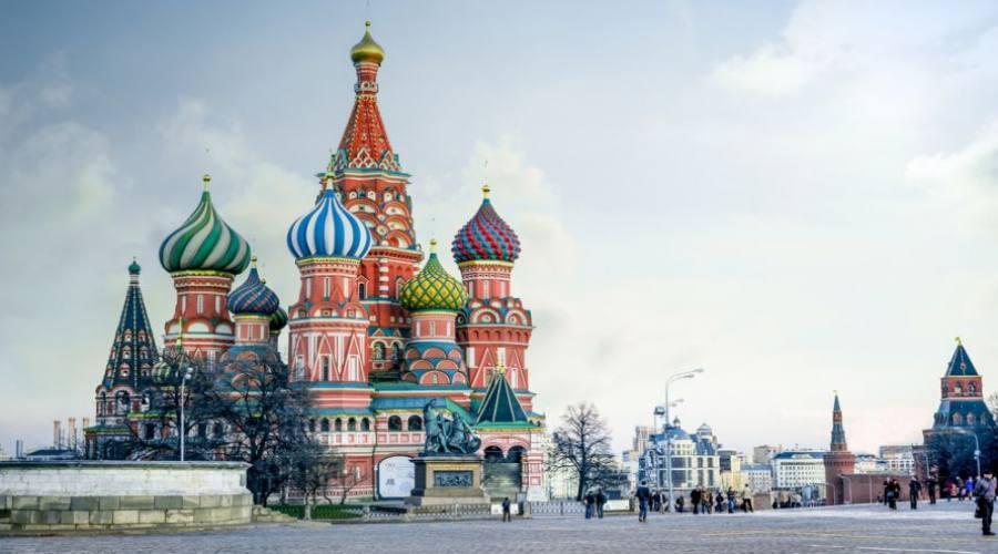 Mosca San Basilio e Piazza Rossa