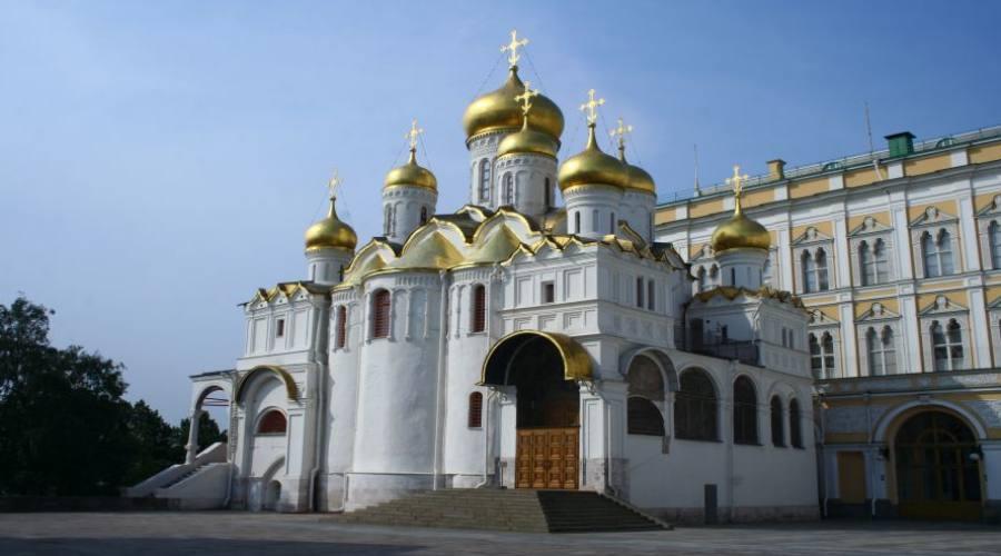 Mosca una cattedrale nel Cremlino