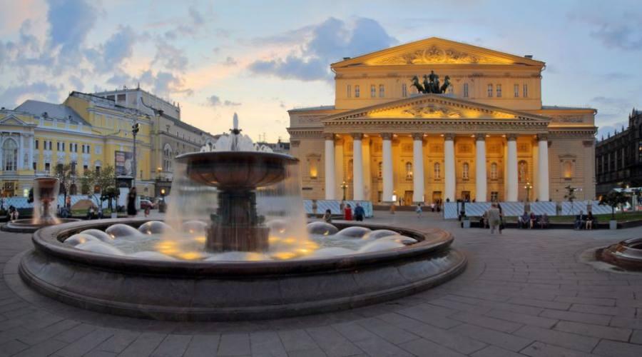 Mosca il Teatro Bolshoi