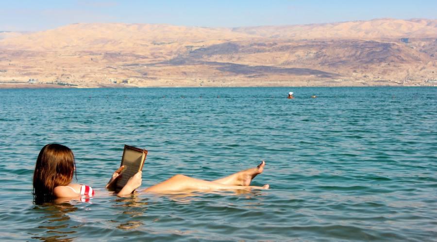 Bagno sul Mar Morto