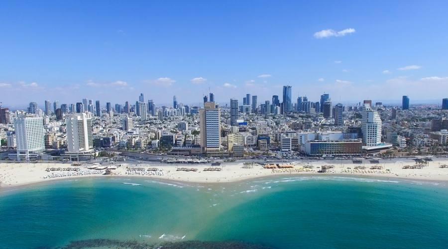 Skyline di Tel Aviv