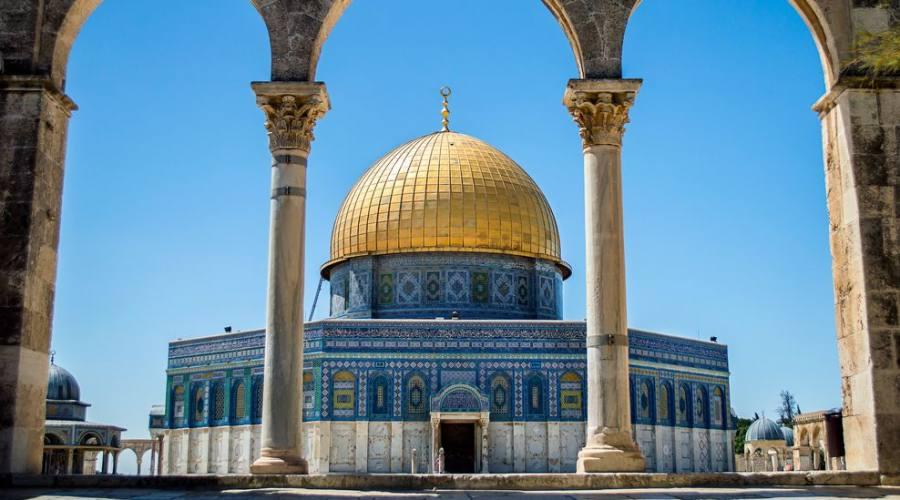 Gerusalemme al Moschea di Omar