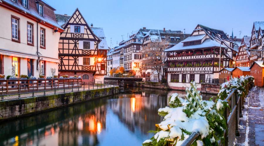 Strasburgo, atmosfera natalizia