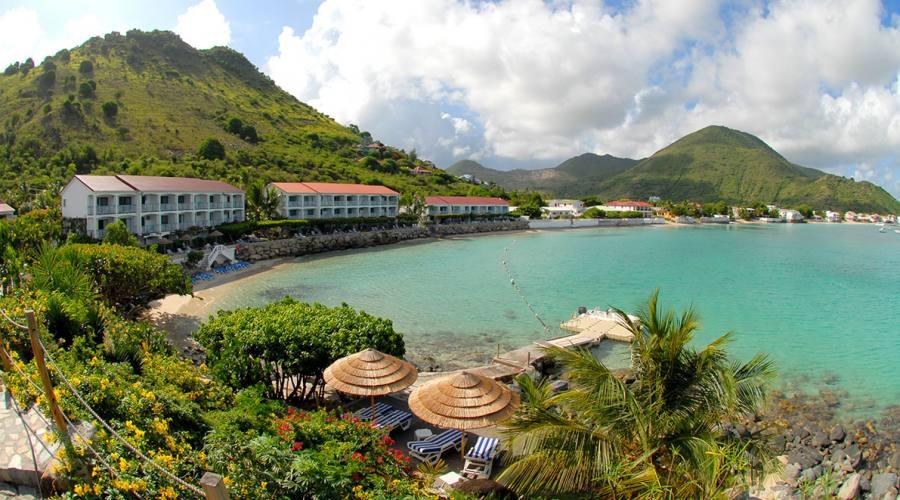 Vista della baia - Grand Case Beach Club